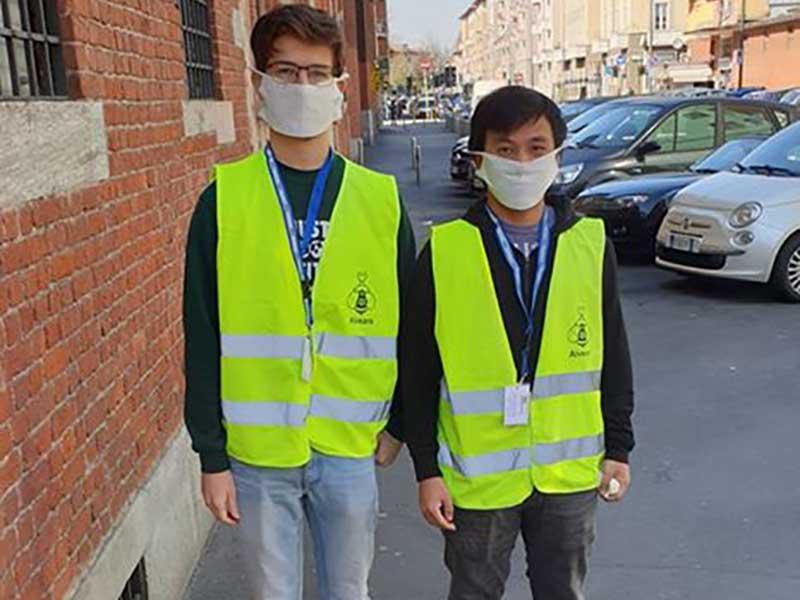 coronavirus si mobilitano i giovani